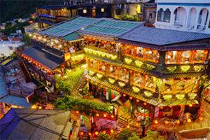 【台湾】九份の海悦楼茶坊から阿妹茶酒館を撮影した話